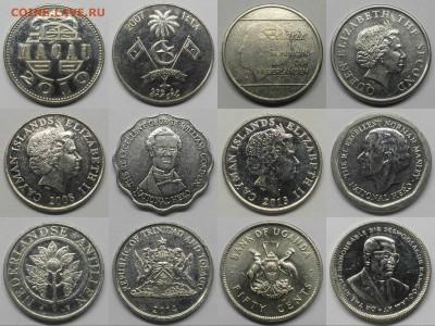 12 монет экзотических стран - №1