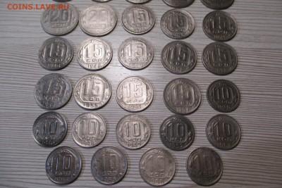 34 никелевых монет 1936-1954 без повторов - 3