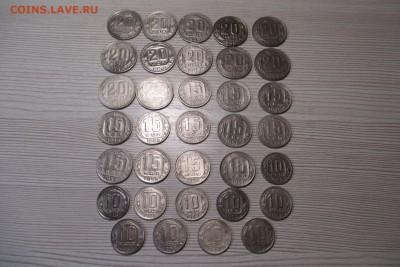 34 никелевых монет 1936-1954 без повторов - 1