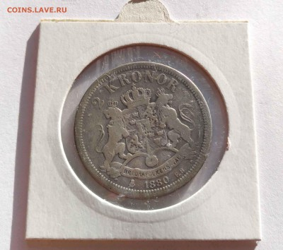 5 крон 1966 Швеция (с бонусом) до 10.01.12 - 2кр 1880б