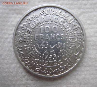 100 франков марокко 1953     до 10.01.18 - IMG_5716.JPG
