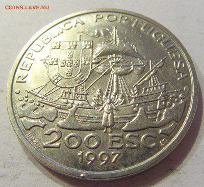 200 эскудо 1997 Хавьер Португалия №1 19.01.2018 22:00 МСК - CIMG9324.JPG