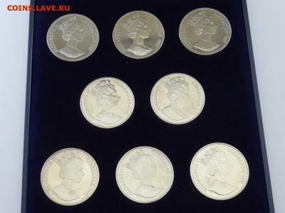 Гибралтар 1 крона 1991 8 шт Олимпийские игры 1992 Барселона - s-l1600 %288%29