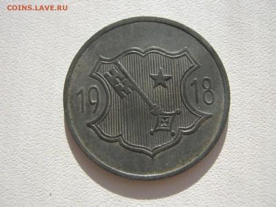 Германия Вормс нотгельд 10 пфеннигов цинк 1918 до 17.02. - IMG_3290