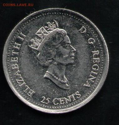 КАНАДА 25 ЦЕНТОВ 1999 - 5 001
