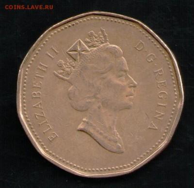 КАНАДА 1 ДОЛЛАР 1990 - 2 001