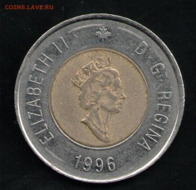 КАНАДА 2 ДОЛЛАРА 1996 - 4 001