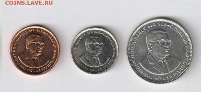 МАВРИКИЙ - 5 и 20 центов, 1 рупия до 21.02.2018г 21-00 - МАВРИКИЙ - 3 шт02