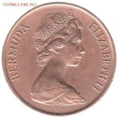 Бермуды 1 цент 1970 до 23.02 в 22.00 - ...