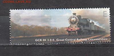 Великобритания 2004 паровоз 1м - 843