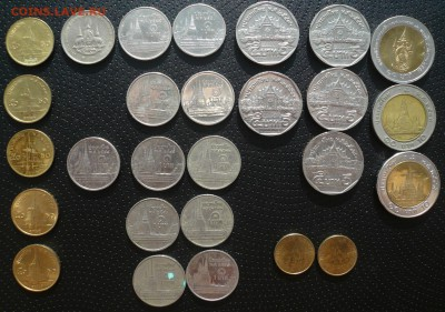 Монеты Тайланда - 2.JPG