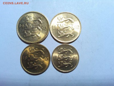 4 монеты Эстонии, 1991-1992гг., до 03.03.18г. - IMG_20180219_215724_thumb
