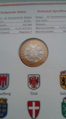 Биметалл Австрия 50 шиллингов 1999 Европейский валютный сою - bimetall_avstrija_50_shillingov_1999_evropejskij_valjutnyj_sojuz_buklet (2)