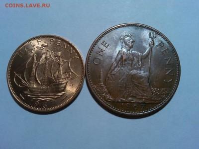 Пенни и пол пенни Великобритании 1967г., до 09.03.18г. - IMG_20180305_213300_thumb