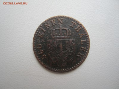 Германия, 1 пфеннинг 1864 со 100 руб. до 11.03.18 20.00МСК - IMG_2894.JPG