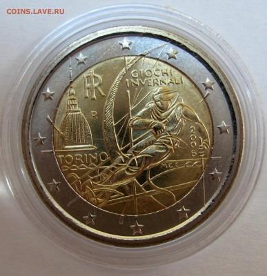 Цена - ПОДАРОК! Юбилейка 2 евро,юбилейка РФ 5 р.,медали. - Италия 2006 ,250 р.JPG