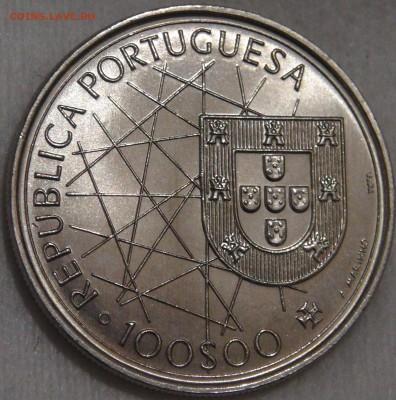 Португалия 100 эскудо 1995 UNC Азорские ост 15.03.18 (22-30) - DSC06564.JPG