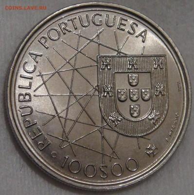 Португалия 100 эскудо 1995 UNC Азорские ост 15.03.18 (22-30) - DSC06562.JPG