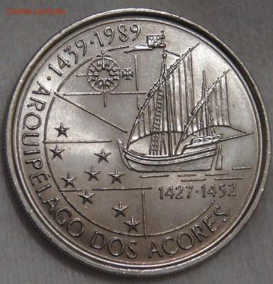 Португалия 100 эскудо 1995 UNC Азорские ост 15.03.18 (22-30) - DSC06559.JPG