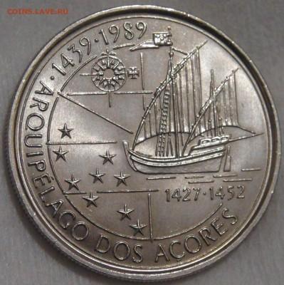 Португалия 100 эскудо 1995 UNC Азорские ост 15.03.18 (22-30) - DSC06557.JPG