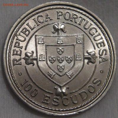 Португалия 100 эскудо 1986 UNC Нуну Триштан 15.03.18 (22-30) - DSC06555.JPG
