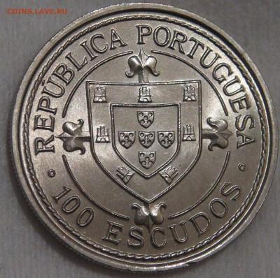 Португалия 100 эскудо 1986 UNC Нуну Триштан 15.03.18 (22-30) - DSC06553.JPG