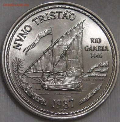 Португалия 100 эскудо 1986 UNC Нуну Триштан 15.03.18 (22-30) - DSC06551.JPG