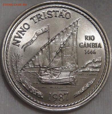 Португалия 100 эскудо 1986 UNC Нуну Триштан 15.03.18 (22-30) - DSC06547.JPG