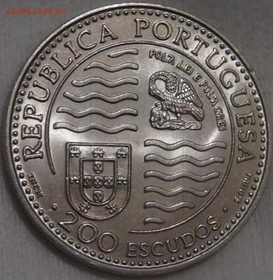 Португалия 200 эскудо 1995 UNC Принц Иоан II 15.03.18 22-30 - DSC06400.JPG