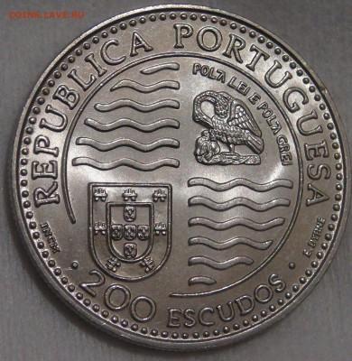 Португалия 200 эскудо 1995 UNC Принц Иоан II 15.03.18 22-30 - DSC06399.JPG