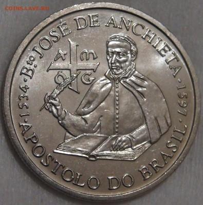 Португалия 200 эскудо 1987 UNC Хосе де Анчье 15.03.18 22-30 - DSC06357.JPG