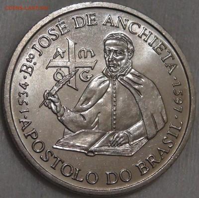 Португалия 200 эскудо 1987 UNC Хосе де Анчье 15.03.18 22-30 - DSC06354.JPG