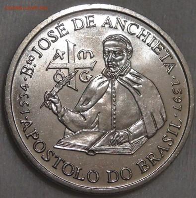 Португалия 200 эскудо 1987 UNC Хосе де Анчье 15.03.18 22-30 - DSC06353.JPG