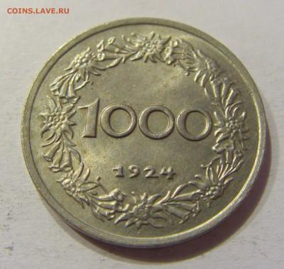 1000 крон 1924 Австрия №1 17.03.2018 22:00 МСК - CIMG5352.JPG