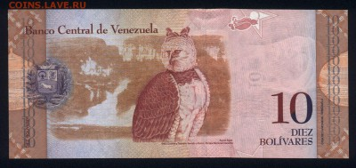Венесуэла 10 боливаров 2011 unc 17.03.18 22:00 мск - 1