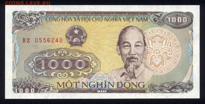 Вьетнам 1000 донг 1988 unc 18.03.18 22:00 мск - 2