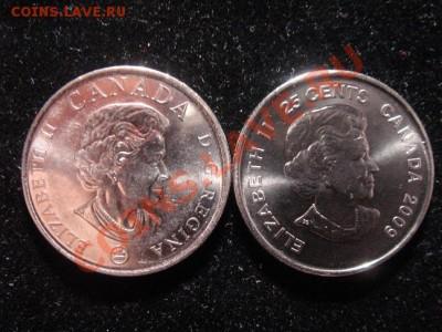 Канада 25 ц. 2 монеты цветные до 15.04 21-00 мск - DSC08323.JPG
