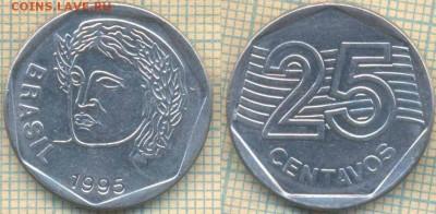 Бразилия 25 сентаво 1995 г., до 23.03.2018 г. 22.00 по Москв - Бразилия 25 сентаво 1995  464