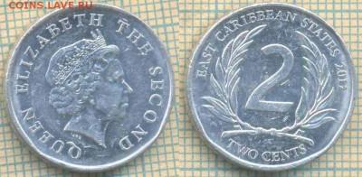 Восточные Карибы 2 цента 2011г., до 23.03.2018 г. 22.00 по М - Восточные Карибы 2 цента 2011  468