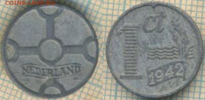 Нидерланды 1 цент 1942 г., до 23.03.2018 г. 22.00 по Москве - Нидерланды 1 цент 1942 475