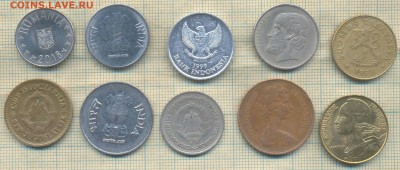 Иностранные монеты разные, фикс по 5 руб - 5 1а