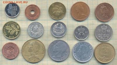 Иностранные монеты разные, фикс по 5 руб - 5 2а