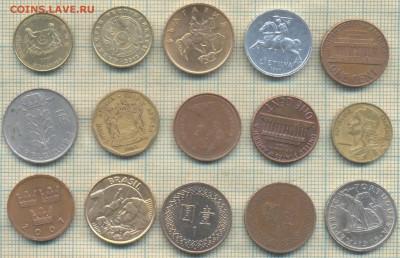 Иностранные монеты разные, фикс по 5 руб - 555
