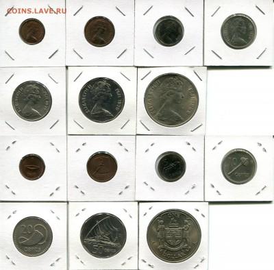 Фиджи подборка 1с-1$ 1969-1985 до 20.03.18 22-00 мск - Fiji dif5