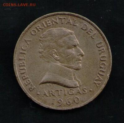 УРУГВАЙ 5 СЕНТЕСИМО 1960 - 4 001