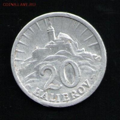 СЛОВАКИЯ 20 ГЕЛЕРОВ 1942 - 1 001