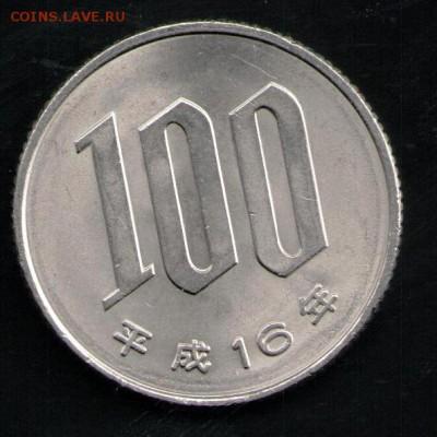 ЯПОНИЯ 100 ЙЕН - 9 001