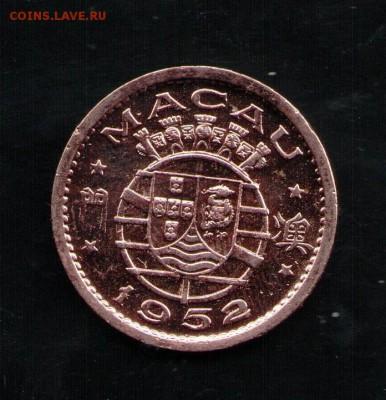 МАКАО 10 АВОС 1952 UNC - 4 001