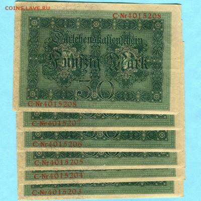 [ФИКС 400Р] Германия 50 марок 1914 -=UNC=- - 759