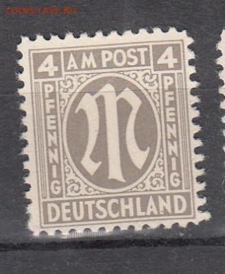 Германия 1945 Американская зона 1м 4пф - 245